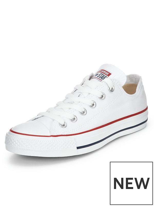 super billigt Los Angeles spara upp till 80% Converse Chuck Taylor All Star Ox Plimsolls - White | very.co.uk
