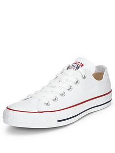81864423590 Converse Chuck Taylor All Star Ox Plimsolls - White