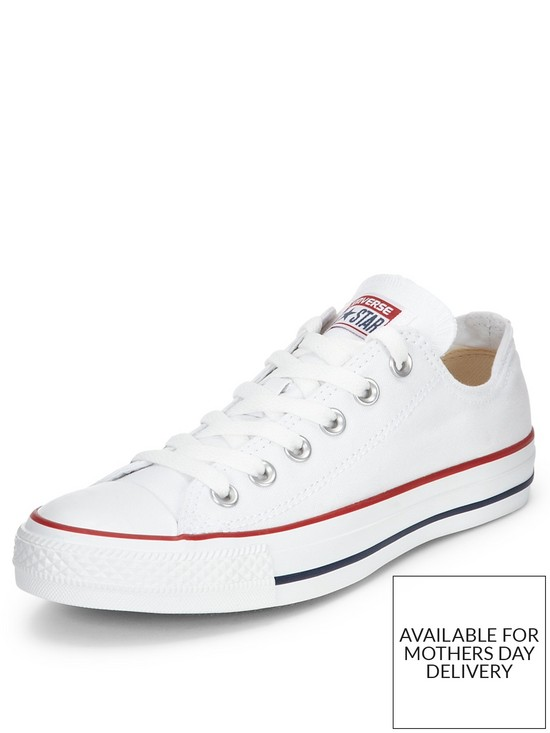 Converse Chuck Taylor All Star Ox Plimsolls - White  0cd060c0ee