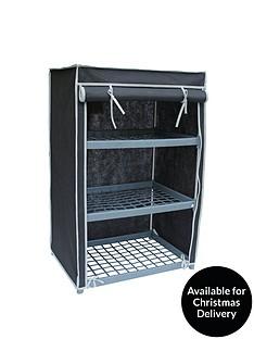 new-ideal-3-shelf-canvas-storage-unit-black
