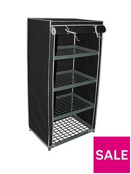 new-ideal-4-shelf-canvas-storage-unit-black
