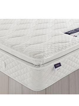 silentnight miracoil geltex pillowtop mattress medium. Black Bedroom Furniture Sets. Home Design Ideas