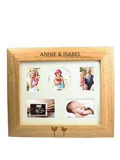 personalised-delicate-birds-wooden-frame