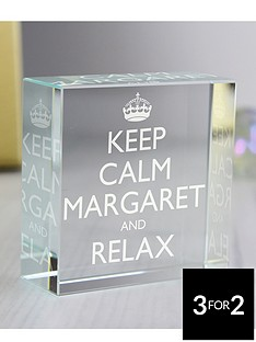 personalised-keep-calm-crystal-token