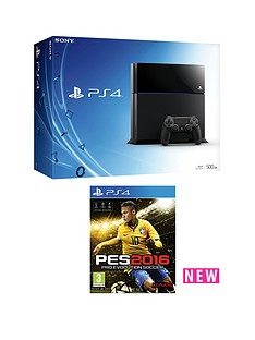 playstation-4-500gb-with-pro-evolution-soccer-2016-and-optional-12-months-playstation-plus-and-extra-controller