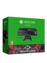 500Gb Console with Gears of War: Ultimate Edition and Optional 12 Months Xbox Live and Wireless Controller