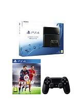 1Tb Black Console with FIFA 16 and Optional 12 Months Playstation Plus and/or Extra Controller