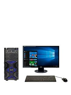 zoostorm-mana136-intelreg-coretrade-i5-processor-8gb-ram-1tb-hard-drive-236in-fhd-desktop-bundle-geforce-gtx-960-2gb-black-blue-lighting-with-optional-microsoft-office-365-personal