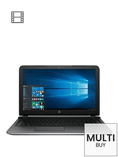 hp-pavilion-15-ab221na-intelreg-coretrade-i3-8gb-ram-2tb-hard-drive-156-inch-laptop-with-iris-graphics-and-optional-microsoft-office-365-natural-silver