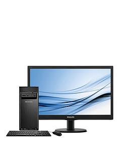 lenovo-h30-intelreg-celerontrade-processor-4gb-ram-1tb-hdd-storage-185-inch-desktop-bundle-with-optional-microsoft-office-2016