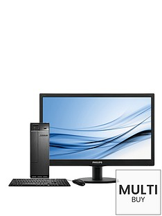 lenovo-h30-intelreg-pentiumreg-processor-4gb-ram-1tb-hdd-storage-185-inch-desktop-bundle-with-optional-microsoft-office-2016