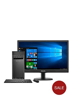 lenovo-h50-50-intelreg-coretrade-i5-processor-8gb-ram-1tb-hdd-storage-236-inch-desktop-bundle-with-optional-microsoft-office-365-personal