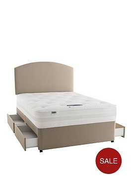 silentnight-mirapocket-1200-pocket-penny-deluxe-tufted-divan-bed-with-optional-storage