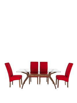 knox-180cm-table-with-4-scarlet-chairs