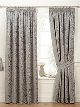 Luxury Heavyweight Fern Jacquard Curtains