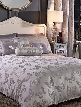 By Caprice Butterfly Jacquard Duvet Cover