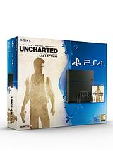 500Gb Console with Uncharted: The Nathan Drake Collection and Optional Dualshock Controller and/or 12 Months Playstation Plus