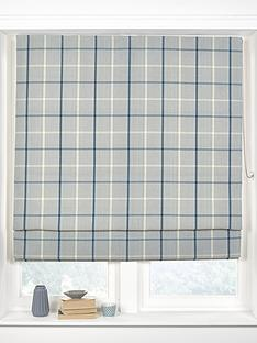 made-to-measure-croft-check-roman-blinds-ocean