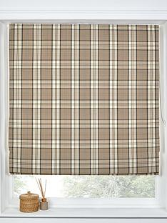 made-to-measure-lewis-check-roman-blinds-latte