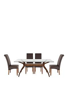 knox-180cm-table-with-4-brook-faux-leather-chairs