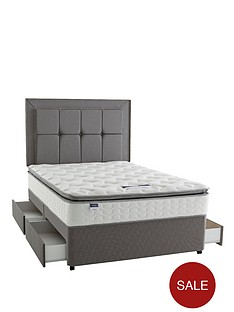 silentnight-miracoil-3-tuscany-memory-pillowtop-divan-bed-with-optional-storage