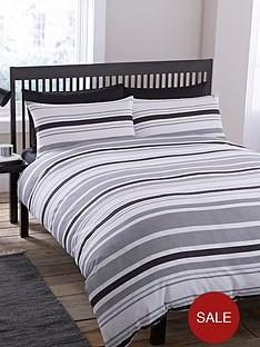 geo-stripe-duvet-cover-and-pillowcase-set-black