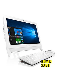 lenovo-c20-00-intelreg-celeronreg-processor-4gb-ram-500gb-hard-drive-195-inch-all-in-one-desktop-pc-with-optional-1-years-subscription-to-microsoft-office-365-personal-white