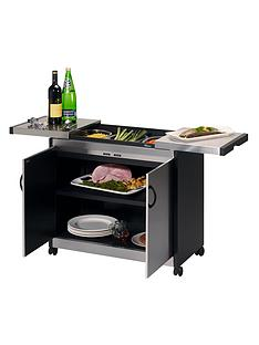 hostess-hl6232bs-connoisseur-trolley-stainless-steel