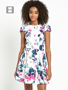 definitions-printed-skater-dress