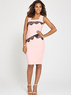 rochelle-humes-lace-detail-pencil-dress
