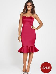 rochelle-humes-bandeau-bodycon-fishtail-dress