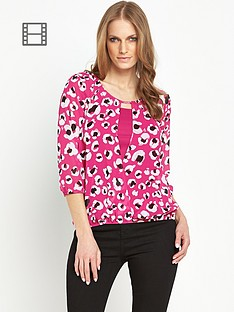savoir-printed-wrap-front-blouse