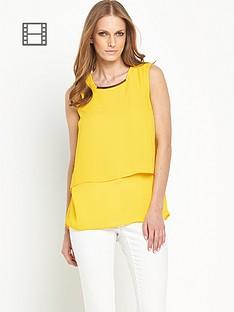 savoir-double-layer-blouse