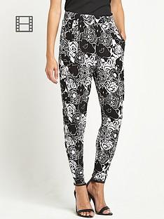 savoir-printed-trousers