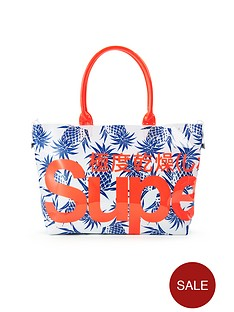 superdry-pineapple-mini-jelly-tote-bag