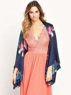 ted-baker-orchid-print-silk-cape