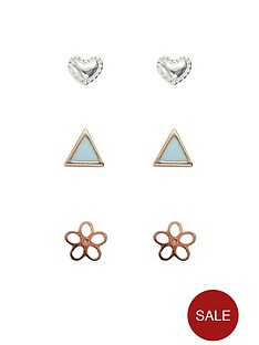 orelia-summer-stud-earring-pack