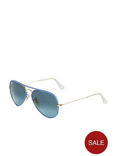 ray-ban-blue-aviator-sunglasses