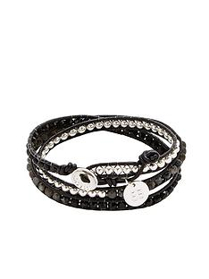 boho-betty-twist-wrap-black-bracelet