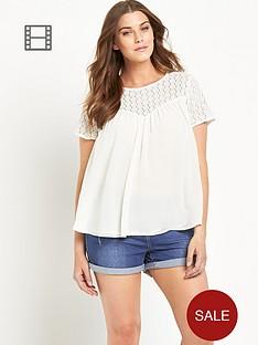 so-fabulous-crochet-lace-yoke-swing-blouse