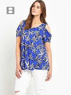 so-fabulous-cold-shoulder-print-jersey-top