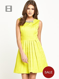 oasis-sophie-embellished-neck-dress