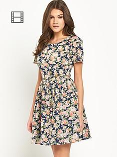 oasis-denim-rose-cotton-dress
