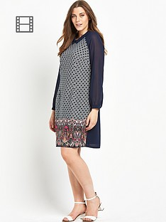 lovedrobe-printed-collar-dress