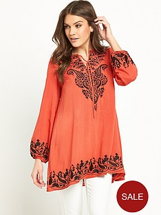 glamorous-embroidered-long-sleeved-tunic