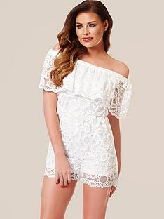 jessica-wright-demi-lace-frill-playsuit