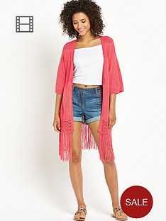 south-knitted-tape-yarn-fringed-hem-kimono