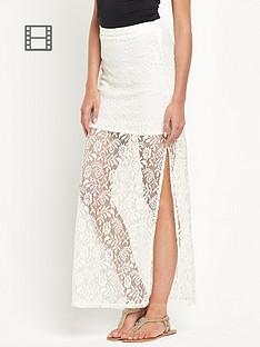 south-lace-side-split-maxi-skirt