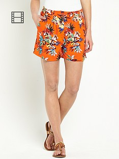 south-belted-tropical-print-shorts