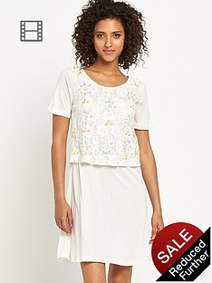 south-double-layer-embellished-dress